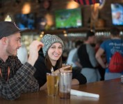 Beer Head Snow Day Bar Crawl